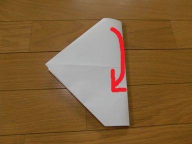 ハート 折り紙:紙鉄砲の作り方 折り紙-toy7.net