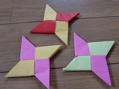 折り紙の:折り紙の手裏剣の作り方-toy7.net