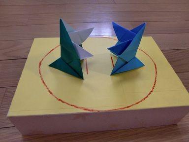 折り紙のとんとん相撲|簡単 ... : 簡単なペーパークラフト : すべての講義